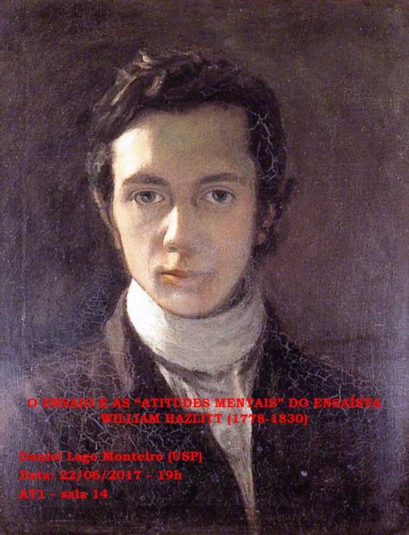 """O ensaio e as """"atitudes mentais"""" do ensaísta William Hazlitt"""