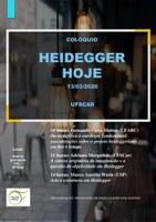"""Colóquio """"Heidegger Hoje"""""""