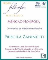 Dissertação defendida no PPGFil/UFSCar recebe menção honrosa no Prêmio Filósofas 2020